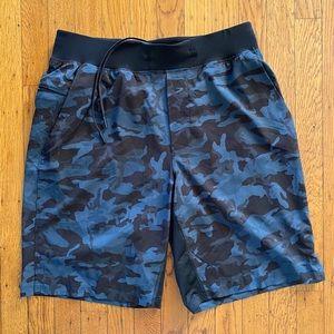 Lululemon Athletica Pace Breaker Camo Shorts